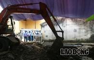 Khai quật ở Cty Nicotex Thanh Thái: Đào đến đâu nỗi kinh hoàng hiện lên đến đó