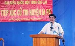 Chủ tịch Tổng LĐLĐVN Bùi Văn Cường tiếp xúc cử tri tại Gia Lai