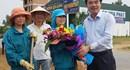 LĐLĐ Quảng Bình: Thăm hỏi người lao động nhân ngày Quốc tế lao động