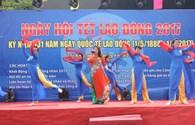 Đà Nẵng: Sôi nổi nhiều hoạt động trong ngày hội Tết Lao động 2017