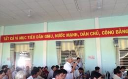Cử tri Quảng Nam bức xúc về cấp giấy chứng nhận đất đai, sạt lở mất đất