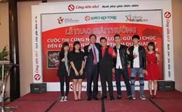 Trao giải cuộc thi chúc Đội tuyển Việt Nam