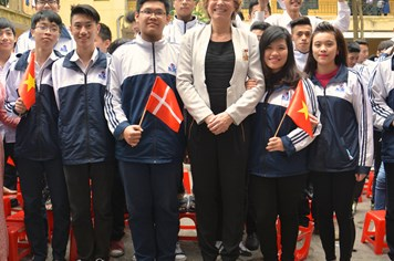 Bộ trưởng Giáo dục Đan Mạch Christine Antorini:  Sẽ là một sự hợp tác hoàn hảo