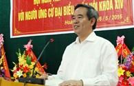 Trưởng Ban Kinh tế TƯ Nguyễn Văn Bình tiếp xúc cử tri tại Quảng Bình