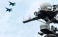 Tàu sân bay Mỹ triển khai đội hình ở biển Đông