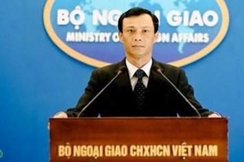 """Các hành động của Trung Quốc ở biển Đông """"hoàn toàn vô giá trị"""""""