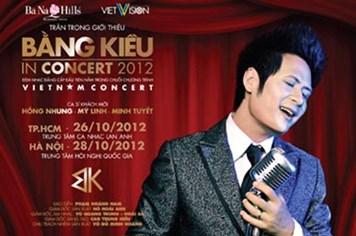 Live concert của ca sĩ Bằng Kiều sẽ có những bất ngờ