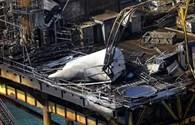 Nổ giếng dầu tại vịnh Mexico, 2 người mất tích