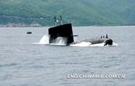 Trung Quốc diễn tập tàu ngầm ở biển Đông