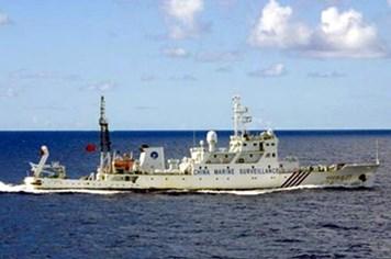 Tàu hải giám Trung Quốc lại vào vùng biển tranh chấp