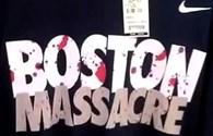 """Nike thu hồi áo phông mang dòng chữ """"Vụ tàn sát Boston"""""""