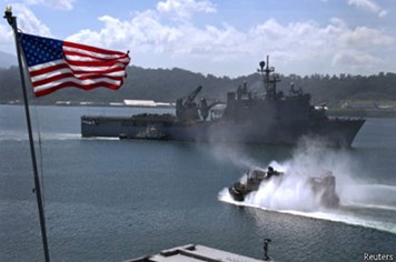 Mỹ, Philippines tập trận chung ở biển Đông