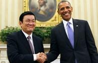 Tuyên bố chung của Chủ tịch Nước Trương Tấn Sang và Tổng thống Hoa Kỳ Barack Obama