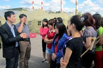 Lập tổ công tác ứng trực tại khu tạm giữ lao động Việt Nam