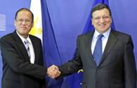 Philippines và EU thống nhất lập trường về biển Đông