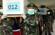 Nhiều thi thể nạn nhân QZ8501 vẫn thắt đai an toàn