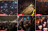 Chùm ảnh: Khắp Châu Âu khóc thương, toàn thế giới lên án vụ thảm sát tại tòa báo ở Paris