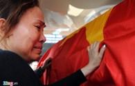 Hình ảnh xúc động trong lễ tang 4 chiến sĩ hy sinh