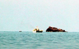 Tàu quét Sonar tìm hai tiêm kích Su-22 bằng sóng siêu âm