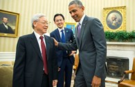 Hình ảnh ngày thứ 2 thăm Hoa Kỳ của Tổng Bí thư Nguyễn Phú Trọng