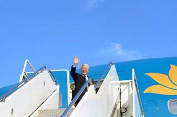 Tổng Bí thư Nguyễn Phú Trọng kết thúc tốt đẹp chuyến thăm Mỹ