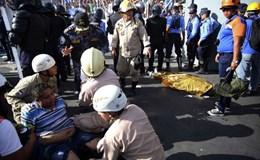 Sốc: Một thai nhi và 4 người chết vì bị giẫm đạp