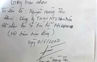 """Vụ tàu thép 67/CP nằm bờ: Công ty Nam Triệu chi hàng trăm triệu đồng mua """"thỏa thuận"""" của ngư dân"""