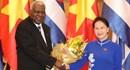Chủ tịch Quốc hội Cuba phát biểu tại Quốc hội Việt Nam