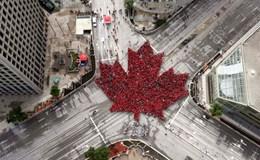 Canada rực đỏ trong ngày kỷ niệm 150 năm Quốc khánh