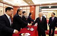 Tổng Bí thư gặp mặt các tân Đại sứ Việt Nam ở nước ngoài