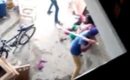 Một phụ nữ bị bạo hành dã man sau khi sinh con gái