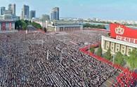 Hàng vạn người Triều Tiên phản ứng trước đe dọa của Mỹ
