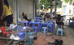 Thanh Xuân, Hà Nội: Vỉa hè trở thành nơi... buôn bán