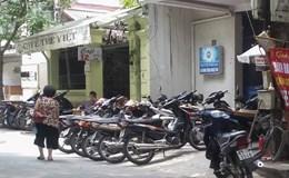 Hà Nội: Tái diễn tình trạng lấn chiếm vỉa hè tại phường Quốc Tử Giám