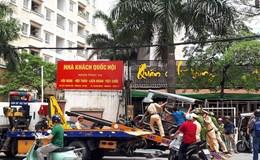 """Hàng nghìn xe ba bánh ở Hà Nội hoạt động """"chui"""""""