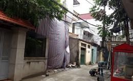 """Nhà của gia đình Bí thư phường Cầu Diễn bị """"tố"""" xây dựng không phép"""