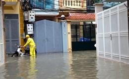 Tổ dân phố 44, phường Yên Hòa (Cầu Giấy, Hà Nội): Sống chung với ngập lụt đến bao giờ?
