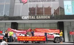 Cư dân Capital Garden Trường Chinh phản đối cách thức tính tiền điện của chủ đầu tư