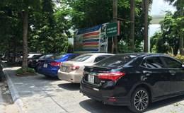 Phường Trung Hòa: Vỉa hè bị chiếm dụng thành nơi để xe