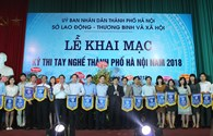 262 thí sinh đua tài tại kỳ thi tay nghề TP Hà Nội năm 2018