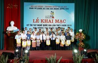 Khai mạc kỳ thi tay nghề quốc gia