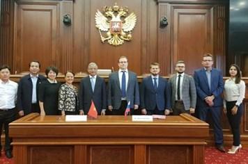 Kết thúc đàm phán Hiệp định thu hút và tuyển dụng có tổ chức người lao động Việt Nam sang làm việc có thời hạn trên Lãnh thổ Liên bang Nga