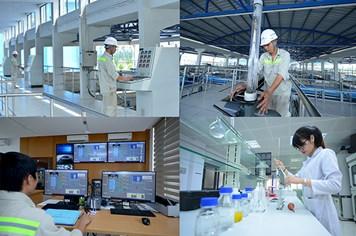 Khánh thành nhà máy nhà máy nước 300.000m3 ngày/đêm