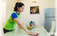 Dịch vụ dọn nhà cuối năm: Việc làm thời vụ cho thu nhập tốt