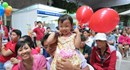 Ấm áp ngày sum vầy của 1.500 đoàn viên công đoàn Dệt May TPHCM
