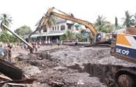 Đồng Nai: Một công nhân bị hàng tấn bùn nhão vùi lấp