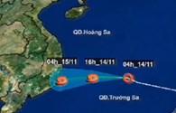 Bản tin video: Áp thấp nhiệt đới tăng cấp, tiến vào biển Đông