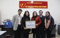 LĐLĐ tỉnh Cao Bằng: Ủng hộ Quỹ TLV hơn 189 triệu đồng