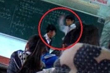 """Vụ """"thầy tát tai, trò lên gối"""" ở Bình Định: Không kỷ luật học sinh quay clip"""