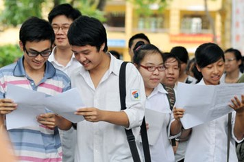 Đã có điểm thi của 335  trường ĐH, CĐ năm 2014